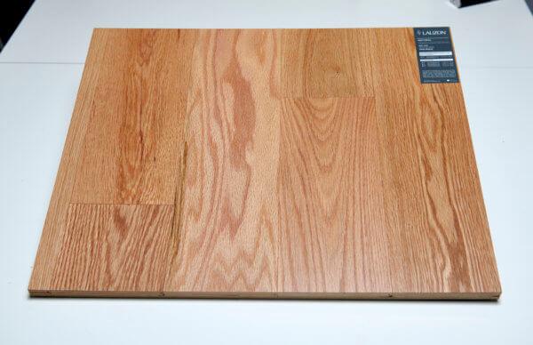 Red oak natural plank matlak